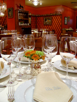 Restaurante Chez Víctor, Salamanca