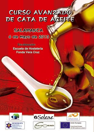 Curso de cata de aceite bonificado en Salamanca