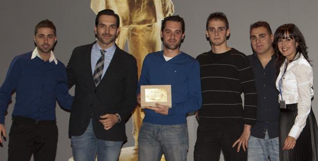 Francisco Vicente en los Premios Hosteleriasalamanca.es 2012