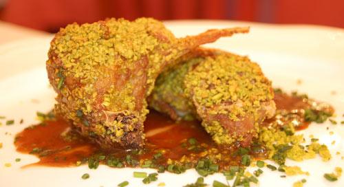 Cordero con pistachos del Casa Montero, Salamanca