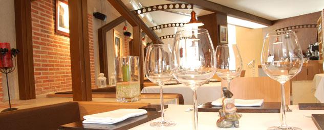 Comedor del restaurante el Alquimista, Salamanca