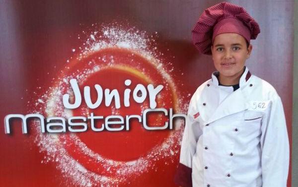Juan Carlos finalista salmantino de Junior Masterchef