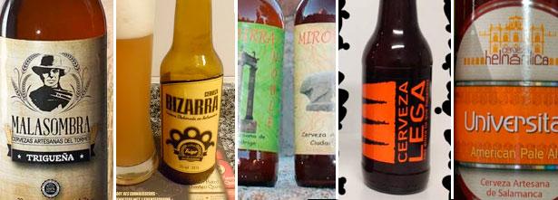 Cervezas artesanales de Salamanca