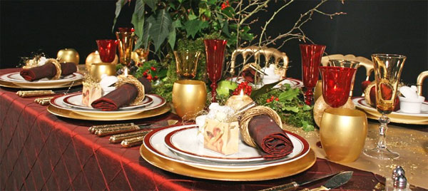 Celebra la navidad en salamanca - Mesa navidena ...