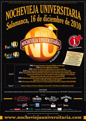 Nochevieja Universitaria Salamanca 2010