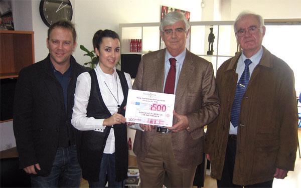 donación al Banco de Alimentos de Salamanca
