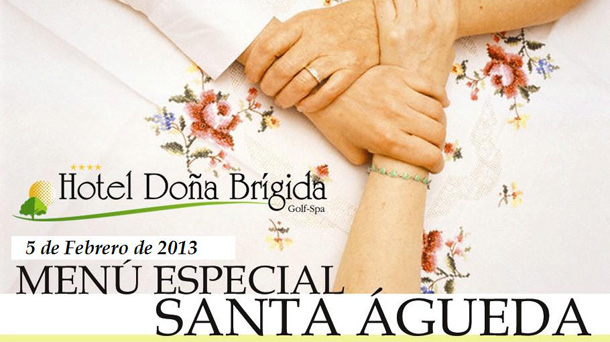 Águedas en el Hotel Doña Brígida de Salamanca