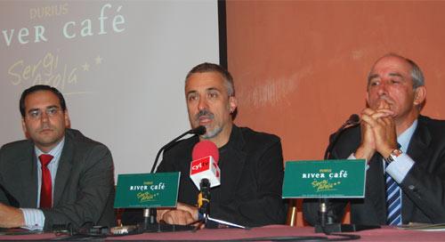 Rueda de prensa para presentar Durius River Café en Salamanca