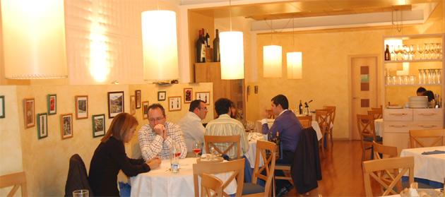 Comedor del restaurante El Salón de Salamanca