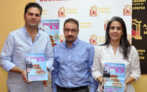 Gaandores concurso pinchos salamanca 2013