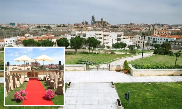 Bodas en el Parador de Salamanca