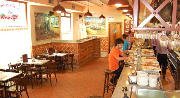 Jamonería de Carmen en Salamanca