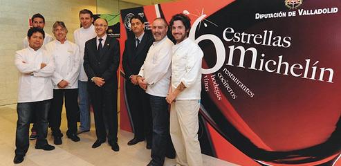 Los seis estrellas MIchelín de Castilla y León