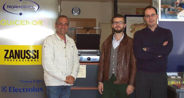 Ganador Concurso Hosteleriasalamanca de la Plancha Norhostel