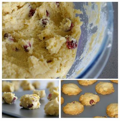 galletas arandanos y coco