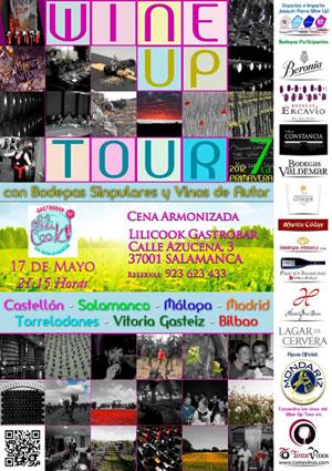 Wine up tour salamanca