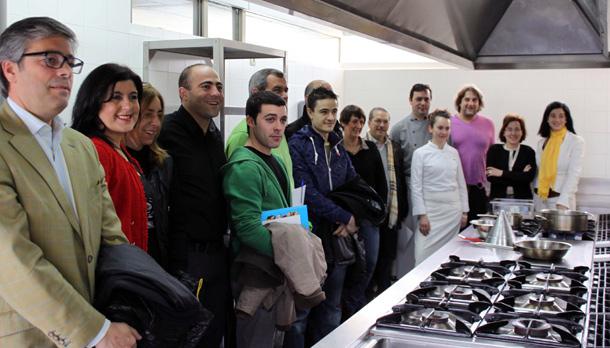 Encuentro chefs escuela hosteleria sta marta