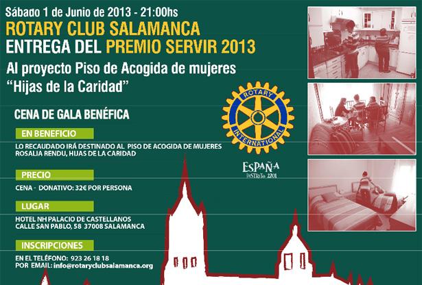 Cena benéfica Rotary Club Salamanca