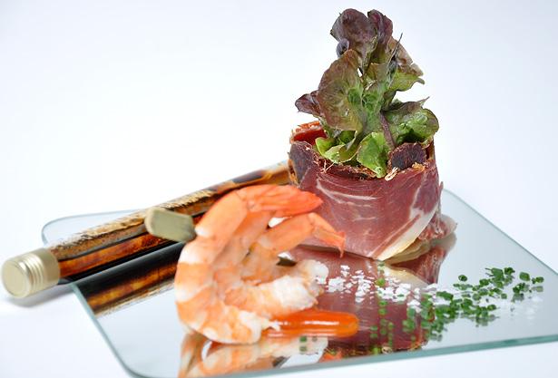 Ensalada de langostinos de LiliCook Gastrobar
