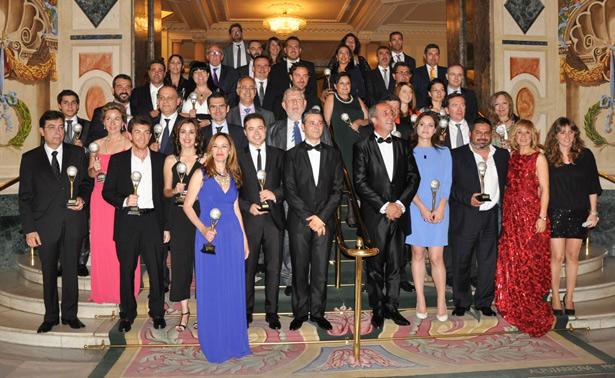 Ganadores de la cuarta edición de los Premios El Suplemento