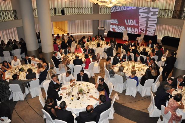Transcurso de la Gala de premios El Suplemento en el Hotel Westin Palace