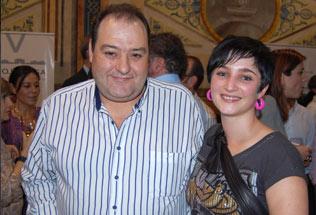 Sandra (El Alquimista) y José Antonio (CTR La Plazuela)