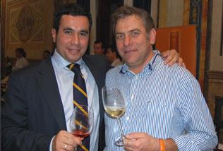 Angel Luis de Montefer junto a Germán de Casa Paca