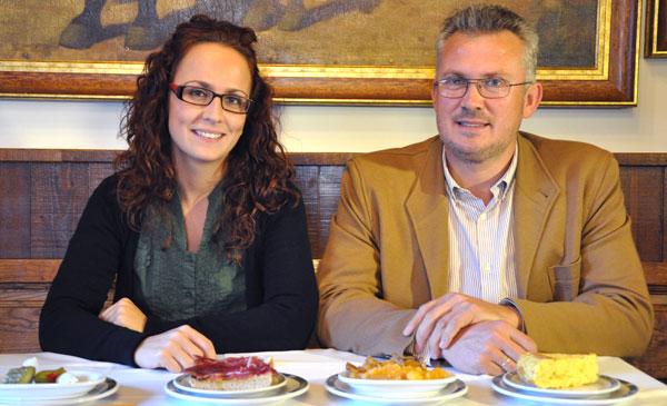 Representantes de la fundación española de nutrición