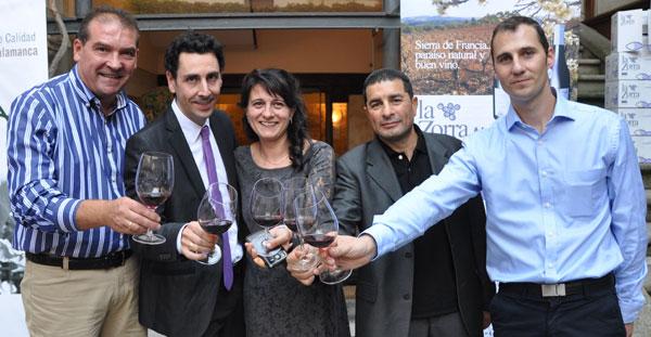 Presentación del vino La Zorra