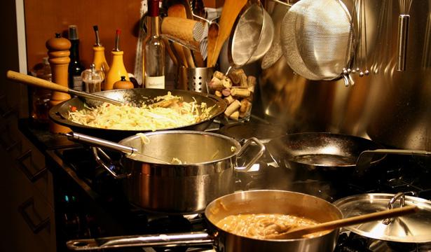 Cocina de un restaurante