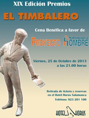 Cartel de Premios El Timbalero 2013