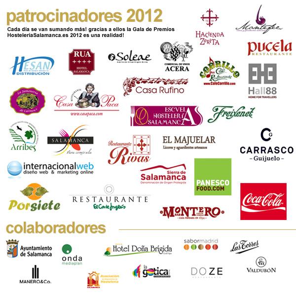 Patrocinadores Premios HS