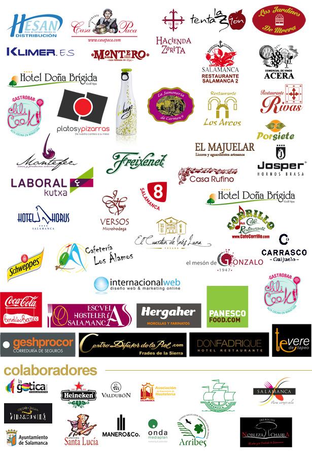 Patrocinadores Premios Hosteleriasalamanca.es 2013