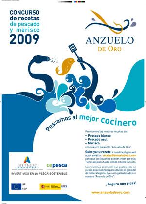 Cartel promocional del Concurso Anzuelo de Oro 2009