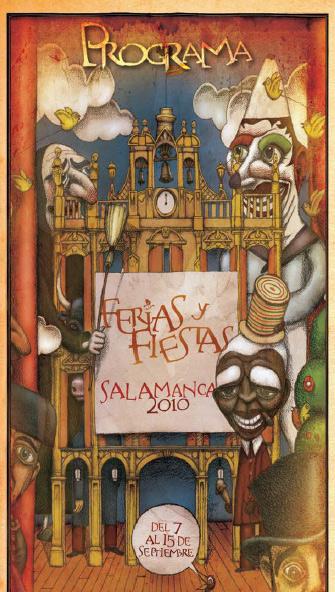 Programa Ferias y Fiestas Salamanca 2010