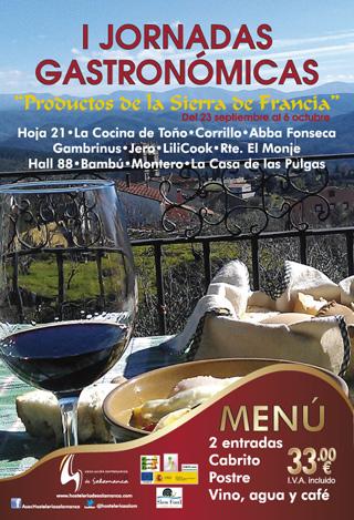 jornadas gastronómicas sierra francia salamanca