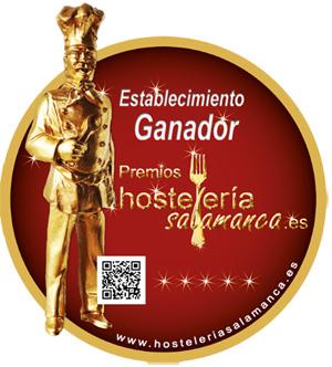 Pegatina Premios Hosteleirasalamanca.es