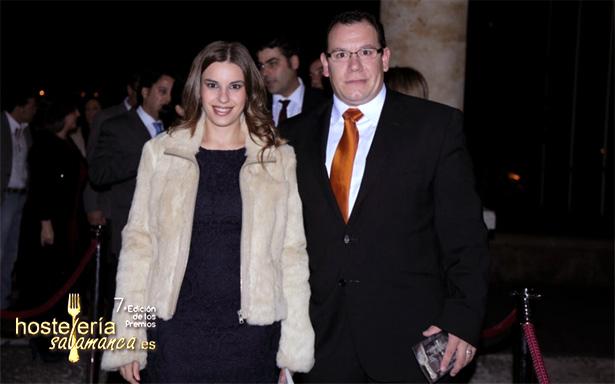 Raul y su mujer de Hergaher