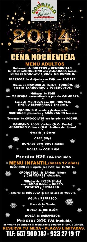Nochevieja en Salamanca