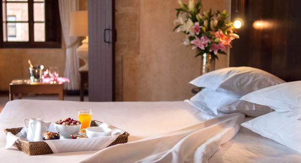 Suite del Hotel Palacio de San Esteban de Salamanca