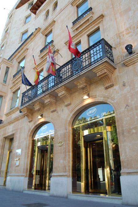 Hotel alameda palace especial bodas en salamanca for Codigo postal calle salamanca valencia