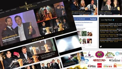 Estrenamos la Página Web Oficial de Los Premios Hosteleriasalamanca.es