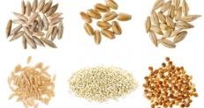 Cereales desconocidos