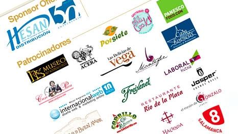Primeros patrocinadores de los VIII Premios Hosteleriasalamanca.es 2014