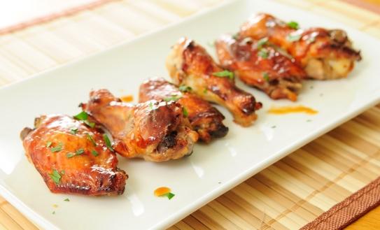 Resultado de imagen de alitas de pollo a la miel