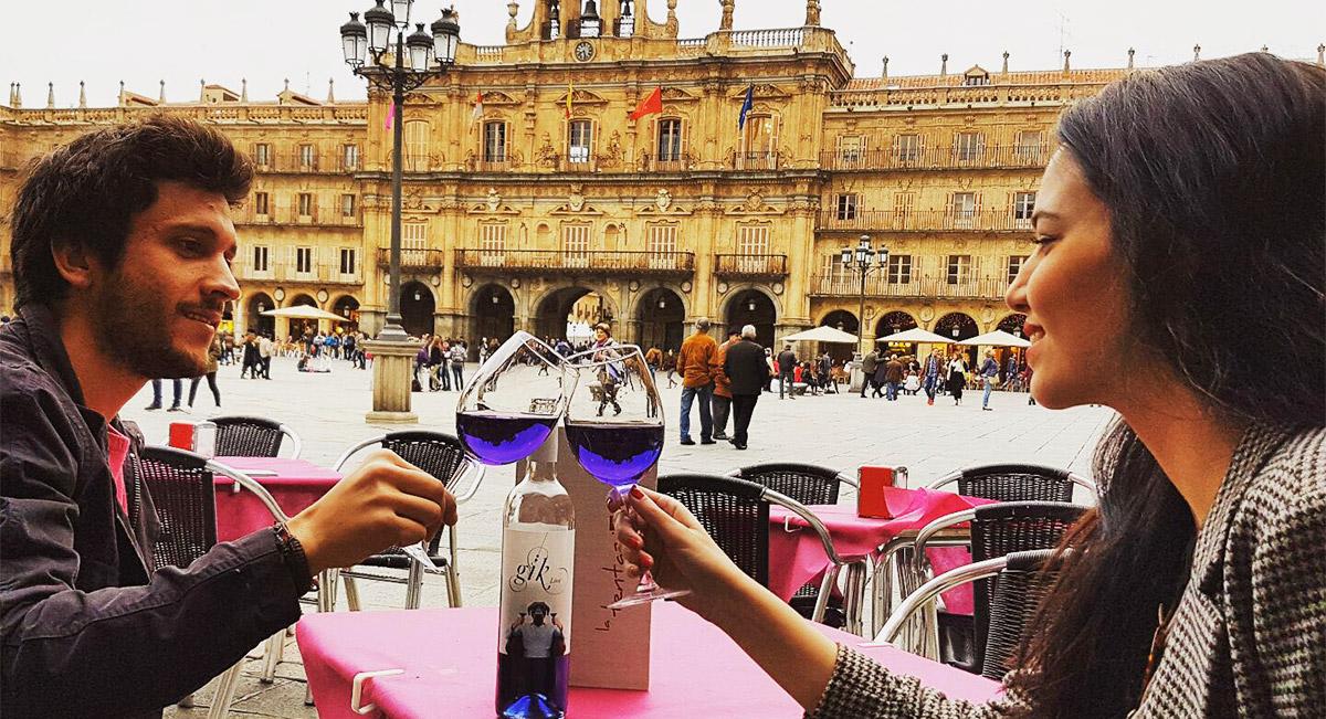 Resultado de imagen de de vino plaza mayor salamanca