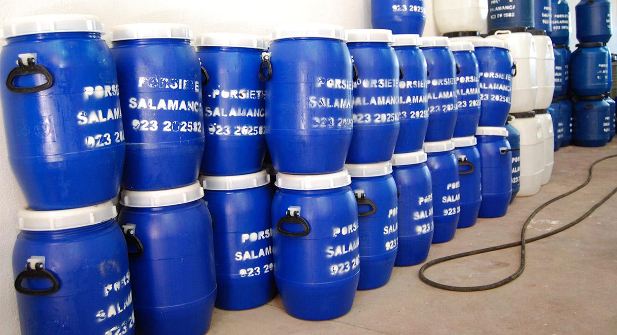 Negocio recogida de aceite usado