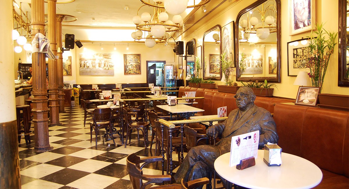 Plaza Mayor Salamanca Cafe