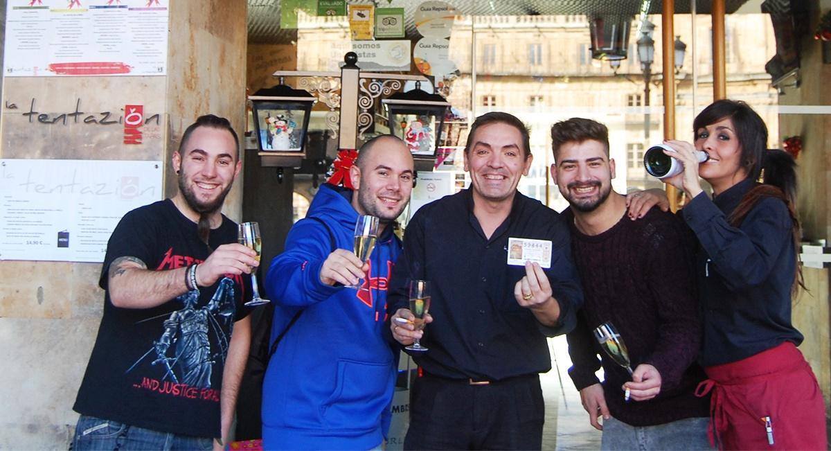 El cuarto Premio de la Lotería de Navidad recae en… La Tentazion ...