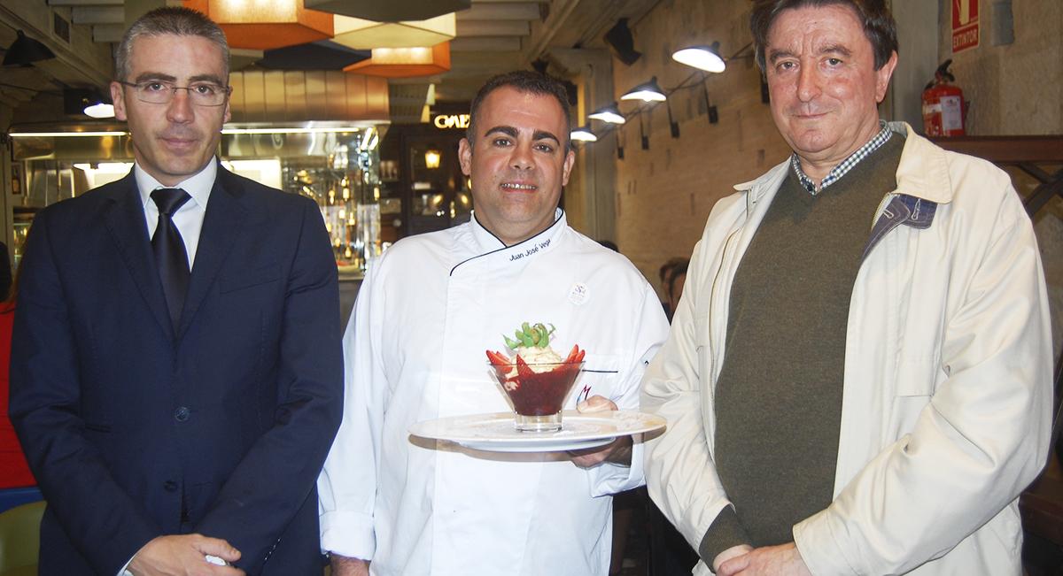 El restaurante Don Mauro presenta un postre con motivo del VIII ...
